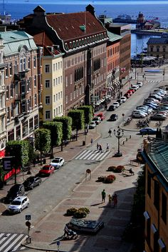 Helsingborg, Sweden.... That's where my family is from! http://www.euroguides.eu/euroguides/sweden/sweden.html
