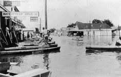 The Great Mississippi Flood of 1927 was the most destructive river flood in the history of the United States, with 27,000 square miles inundated up to a depth of 30 feet. Description from snipview.com. I searched for this on bing.com/images