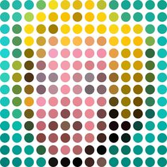 Art reduced & remixed down into 140 circles for Twitter Generation » Design You Trust – Design Blog and Community