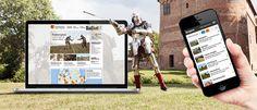 Middelalderborge.dk #responsive #website #webdesign #kolding