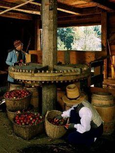 Old Sturbridge Village Sturbridge Village, Visit Usa, Colonial America, Historical Sites, Massachusetts, New England, Cider Press, 19th Century, Primitive