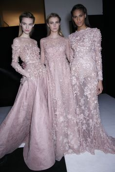 "runway-report: ""Backstage at Elie Saab Couture Spring 2014 "" Beautiful Gowns, Beautiful Outfits, Couture Fashion, Runway Fashion, Paris Fashion, Fashion Women, Elie Saab Couture, Elie Saab Spring, Couture Dresses"