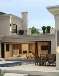 The Crown community is spread over 190 FD with only built up area. Located at a prime location, just a short drive to Mall of Arabia, Mall of Egypt, Galleria Arkan, October Gezira Sporting Club and other nearby commercial and entertaining destinations. Classic House Exterior, Classic House Design, House Front Design, Dream House Exterior, Dream Home Design, Home Design Plans, Modern House Design, Modern Mansion, Villa Design