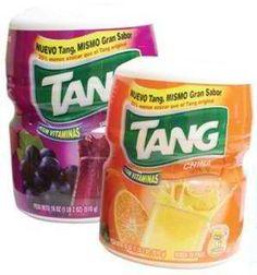Tang Juice Powder / Jugo en Polvo Tang