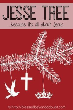 Intro to the Jesse Tree with ideas and resources at blessedbeyondadoubt.com   by ProverbialHomemaker.com