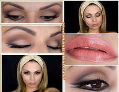 maquillaje de dia colores neutros