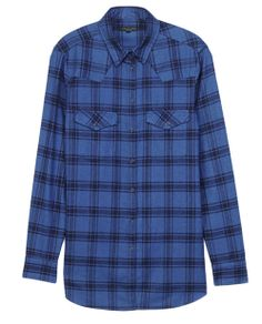 rag & bone Official Store, Western Shirt, navy fl, Womens : Sale : Tops, W235A405R