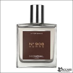 Mondial After Shave Lotion Splash, No 908, 100ml   Maggard Razors - Straight Razor Restoration, Custom Scales and Wet Shaving Products