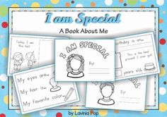 All About Me FREE Book for Back to School (or end of year)