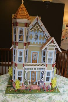 1000 Images About Painted Ladies Dollhouse Ideas On