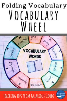 3 Ways to Engage Students with Folding Vocabulary Lessons — Galarious Goods Vocabulary Strategies, Vocabulary Instruction, Teaching Vocabulary, Good Vocabulary, Vocabulary Activities, Student Teaching, English Vocabulary, Teaching Tips, Teaching Reading