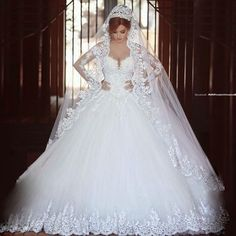 New White/ivory lace Wedding dress Bridal Gown stock size 6-8-10-12-14-16-18