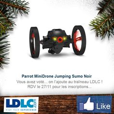 Parrot MiniDrone Jumping Sumo Noir => http://www.ldlc.com/fiche/PB00176979.html#53302f3f2a970