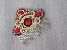 Beads Antistres Hair Comb ..5/2018