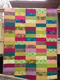 crazy mom quilts: bohemian garden quilt