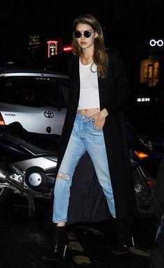 ジジ・ハディッド、『バルマン』ファッションショーの打ち合わせ #PFW | 海外セレブ&セレブキッズの最新画像・私服ファッション・ゴシップ | Jinclude
