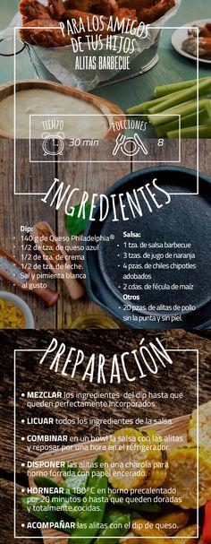 Disfruta de este verano con una receta deliciosa: Alitas barbecue.