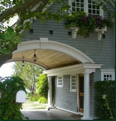 Oh, how I long for a house with an attached carport... especially in our city.