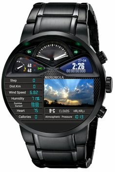 Watches for men - Black apple watch Gelnails BlackOmbre Amazing Watches, Beautiful Watches, Cool Watches, Rolex Watches, Stylish Watches, Luxury Watches For Men, Smartwatch, Skeleton Watches, Black Apple
