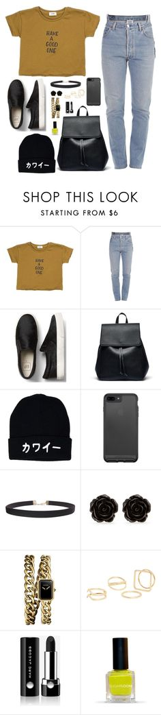 """Untitled #1007"" by sophia-etr ❤ liked on Polyvore featuring Vetements, Sole Society, Humble Chic, Erica Lyons, Chanel, MANGO and Marc Jacobs"