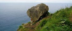 The Journey, Geocaching, Falling Down, The Locals, Portugal, Rock, Stone, Lady, Beach