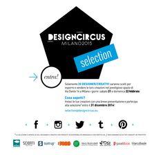 Vuoi diventare uno dei nuovi sponsor DesignCircus per i prossimi appuntamenti anche durante Expo 2015? Per info: marketing@designcircus.eu