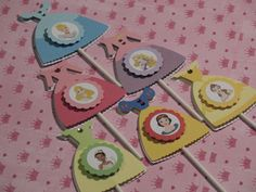 Disney Princess Cupcake Toppers.