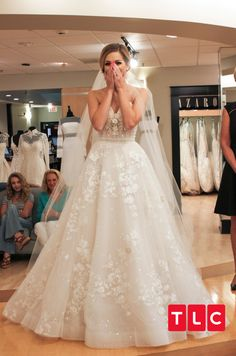 84b668cb6f Bride Betty Cantrell, Eve of Milady, beaded floral pattern A-line, ball  gown cross-medium train, $5,988, Style #: 0130204