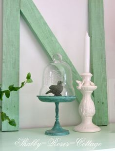 Shabby-Roses-Cottage: Welcome in our living room...HUGE Letters or #s or Symbols from pallet slats