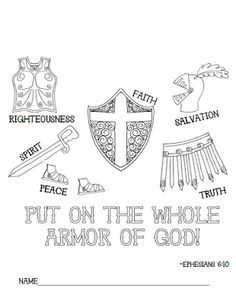 "The phrase ""Armor of God"" is derived from Ephesians 6:11: ""Put on the full armor of God so that you can take your stand against the devils schemes"" (New International Version). Description from imgarcade.com. I searched for this on bing.com/images"