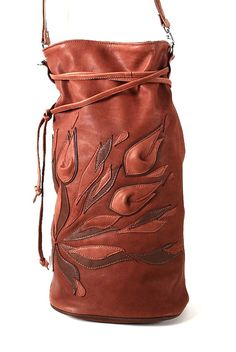 Coffee Brown Leather Women Bag with flowers Shoulder Bag birthday gift Genuine italian Leather gift for her Shopper Duffle bag Boho style Leather Tote Bag-Leather Shopping Bag-Shopper Bag-Italian Black Leather Tote, Brown Leather Totes, Leather Shoulder Bag, Leather Crossbody, Crossbody Bag, Leather Gifts For Her, Leather Bags Handmade, Purses And Handbags, Leather Handbags