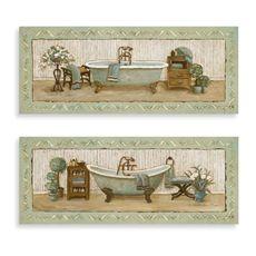 My Peaceful Bath Wall Art (Set of 2)