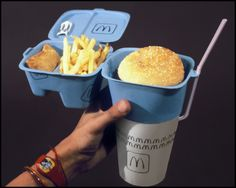 Fast Food Packaging by Ian Gilley, via Behance