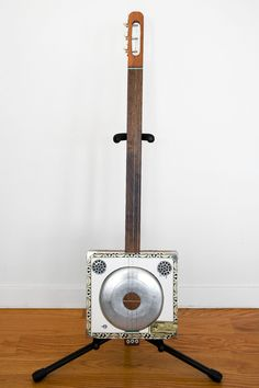 Cigar Box Guitar with Resonator