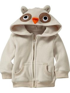 Old Navy | Performance Fleece Critter Hoodies for Baby