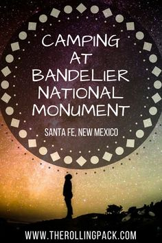 Camping at Bandelier National Monument is a fantastic way to explore Bandelier National Park. Located near Santa Fe, New Mexico, Bandelier National Monument is a stunning, quiet national park. Click visit to read more! Honduras, Ecuador, Costa Rica, Travel Guides, Travel Tips, Travel Articles, Travel Advice, Us Road Trip, Thing 1