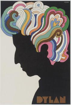 Milton Glaser, Bob Dylan Poster, designed 1966