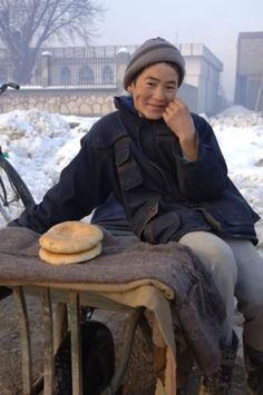 Life Force Magazine Jan 2011 issue. Afghanistan. Bread Seller, by Damian Bird