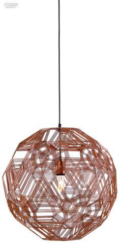 Anon Pairot's Zattelite 5 lamp in copper wire by Schema.