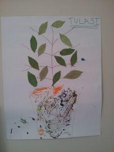 Kanhas: Teaching tulsi worship - a session on teaching tulasi worship to children