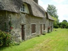 Large thatched farmhouse to renovate with garden, Calvados, Normandy WOW! To die for!!
