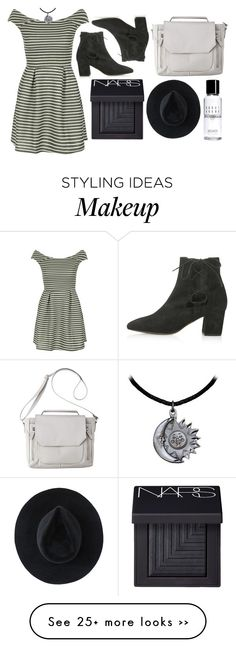 """""""Untitled #673"""" by nilay-gorucu on Polyvore featuring moda, WalG, Topshop, Mossimo, NARS Cosmetics, Ryan Roche ve Bobbi Brown Cosmetics"""