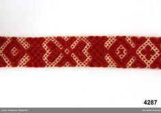 Skärpband - Nordiska museet / DigitaltMuseum
