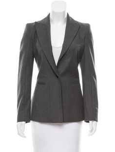 Givenchy Wool Button-Up Blazer w/ Tags