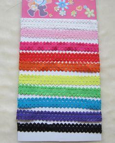 10pcs Baby Girl Lace Headband Headwrap Headbands Headwear Hair Band Accessories