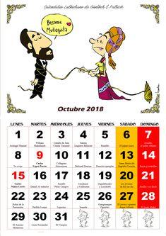 octubre - Calendario Les Luthiers 2018
