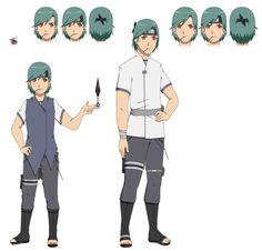 Naruto Oc - Kaito Suzushi by canela2000