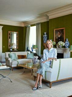 Tory Burch residence lving room