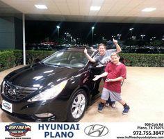 #HappyAnniversary to Kristine Coates on your 2013 #Hyundai #Sonata from Frank White at Huffines Hyundai Plano!