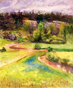bofransson:  Landscape Edvard Munch - 1890